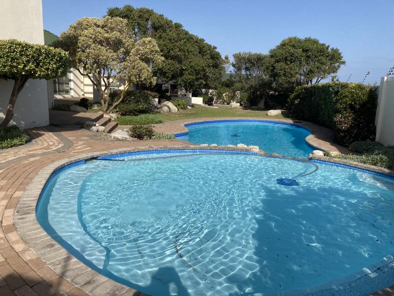 The salt water pool